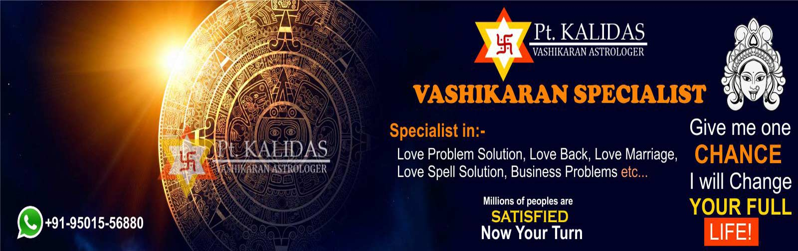 Love Problem Solution Specialist Astrologer in india +91-9501556880